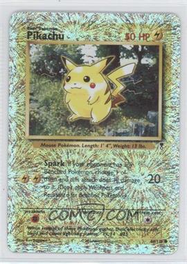 2002 Pokemon Legendary Collection - Booster Pack Reprint Set - Reverse Foil #86 - Pikachu