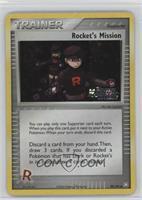 Rocket's Mission