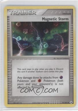 2004 Pokémon EX Hidden Legends - Booster Pack [Base] - Reverse Foil #91 - Magnetic Storm