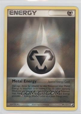 2005 Pokémon EX Unseen Forces - Booster Pack [Base] #97 - Metal Energy