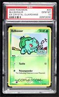 Bulbasaur [PSA10GEMMT]