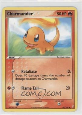 2006 Pokémon EX Crystal Guardians - Base Set #48 - Charmander