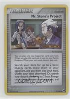 Mr. Stone's Project