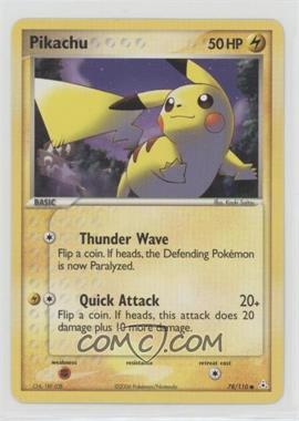 2006 Pokémon EX Holon Phantoms - Booster Pack [Base] #78 - Pikachu