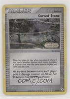 Cursed Stone [Noted]