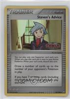 Steven's Advice