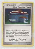 Night Pokemon Center