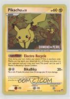 Pikachu (Diamond & Pearl Stamp)
