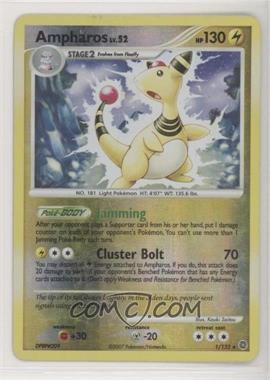 2007 Pokémon Secret Wonders - Booster Pack [Base] - Reverse Foil #1 - Ampharos