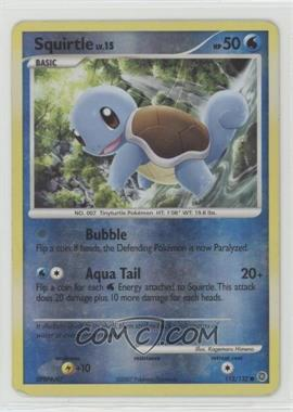 2007 Pokémon Secret Wonders - Booster Pack [Base] - Reverse Foil #112 - Squirtle