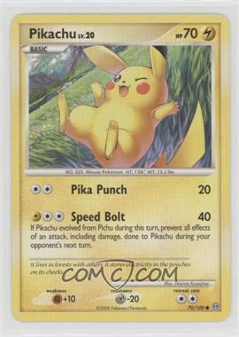 2008 Pokémon Diamond & Pearl - Stormfront - Booster Pack [Base] #70 - Pikachu