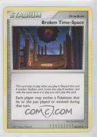 Broken Time-Space