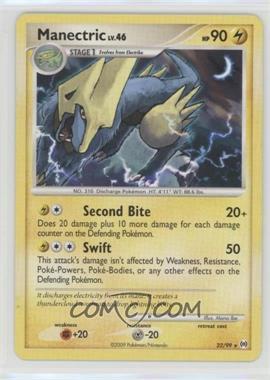 2009 Pokémon Arceus - Booster Pack [Base] #22 - Manectric