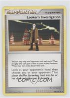 Looker's Investigation