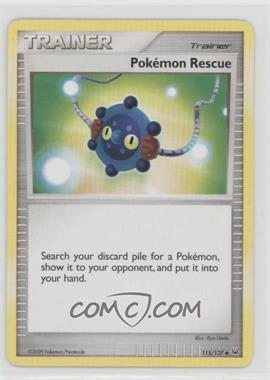 2009 Pokémon Platinum - Booster Pack [Base] #115 - Pokemon Rescue