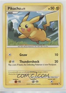 2009 Pokémon Platinum - Supreme Victors - [Base] #120 - Pikachu