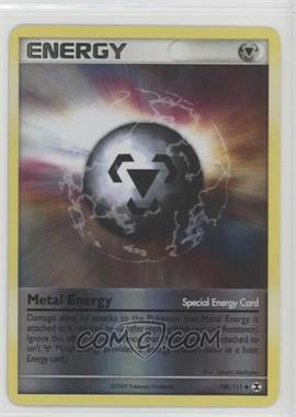 2009 Pokémon Rising Rivals - Base Set - Reverse Foil #100 - Metal Energy
