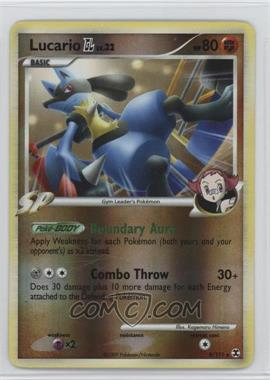2009 Pokémon Rising Rivals - Base Set - Reverse Foil #8 - Lucario