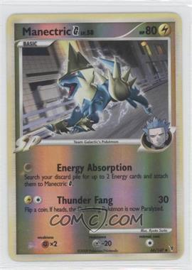2009 Pokémon Supreme Victors - Base Set - Reverse Foil #66 - Manectric