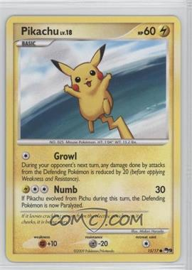 2009 Pokemon Organized Play - Promotional Series 9 #15 - Pikachu [Noted]