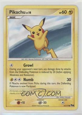 2009 Pokemon Organized Play - Promotional Series 9 #15 - Pikachu