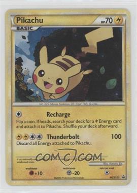 2010-2011 Pokémon HeartGold & SoulSilver - Black Star Promos [Base] #HGSS03 - Pikachu