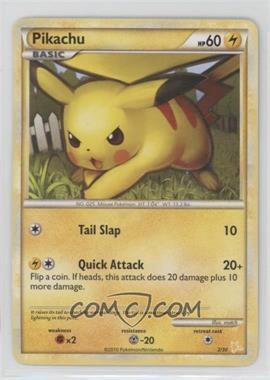 2010 Pokémon - Gyarados & Raichu - Trainer Kit - [Base] #2 - Pikachu