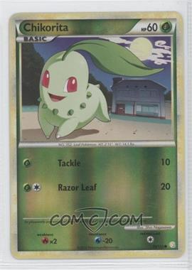 2010 Pokémon HeartGold & SoulSilver - Base Set - Reverse Foil #59 - Chikorita