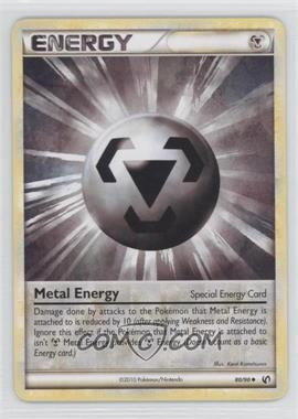 2010 Pokémon Undaunted - Base Set #80 - Metal Energy