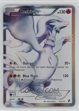 2011 Pokémon Black & White - Booster Pack [Base] #113 - Reshiram