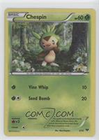 Chespin [Noted]