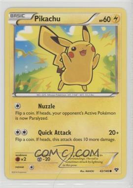 2014 Pokémon XY - Booster Pack [Base] #42.1 - Pikachu