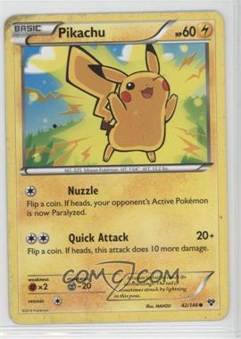 2014 Pokémon XY - Booster Pack [Base] #42.1 - Pikachu [Noted]
