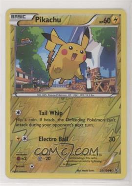 2015 Pokémon XY - Roaring Skies - Expansion Set [Base] - Reverse Foil #20 - Pikachu