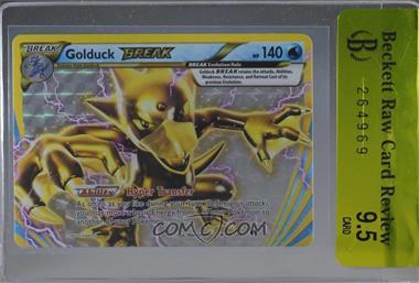 2016 Pokémon Breakpoint - Base Set #18 - Golduck BREAK [BRCR9.5]