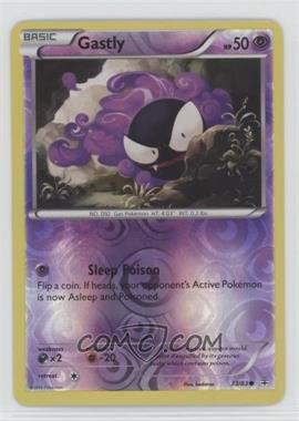 2016 Pokémon Generations - Base Set - Reverse Foil #33 - Gastly