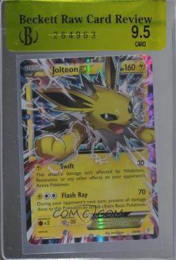 2016 Pokémon Generations - Base Set #28 - Jolteon EX [BRCR 9.5]