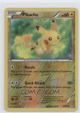 2016 Pokémon XY - Generations - Expansion Set [Base] - Reverse Foil #26 - Pikachu