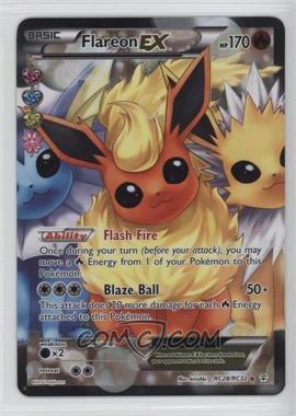 2016 Pokémon XY - Generations - Expansion Set [Base] #RC28 - Flareon EX