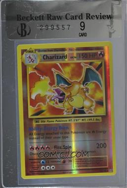 2016 Pokémon XY Evolutions - 20th Anniversary Expansion Pack [Base] - Reverse Foil #11 - Charizard [BRCR 9]