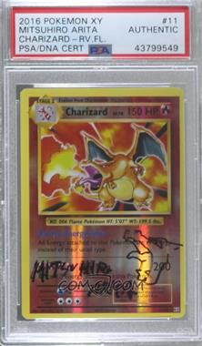 2016 Pokémon XY Evolutions - 20th Anniversary Expansion Pack [Base] - Reverse Foil #11 - Charizard [PSA/DNACertifiedEncased]