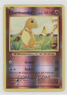 2016 Pokémon XY Evolutions - 20th Anniversary Expansion Pack [Base] - Reverse Foil #9 - Charmander