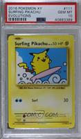 Surfing Pikachu [PSA10GEMMT]