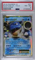 Blastoise ex [PSA 8 NM‑MT]