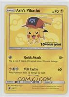 Ash's Pikachu (I Choose You! Movie Promo)