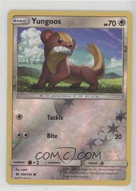 2017 Pokémon Sun & Moon - Base Set - Reverse Foil #109 - Yungoos