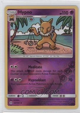 2017 Pokémon Sun & Moon - Base Set - Reverse Foil #60 - Hypno
