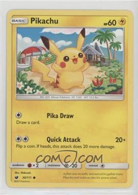 2017 Pokémon Sun & Moon - Crimson Invasion - Expansion Set [Base] #30 - Pikachu