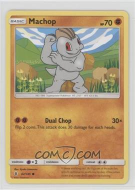 2017 Pokémon Sun & Moon - Guardians Rising - Base Set #62 - Machop