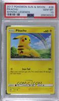Pikachu [PSA10GEMMT]